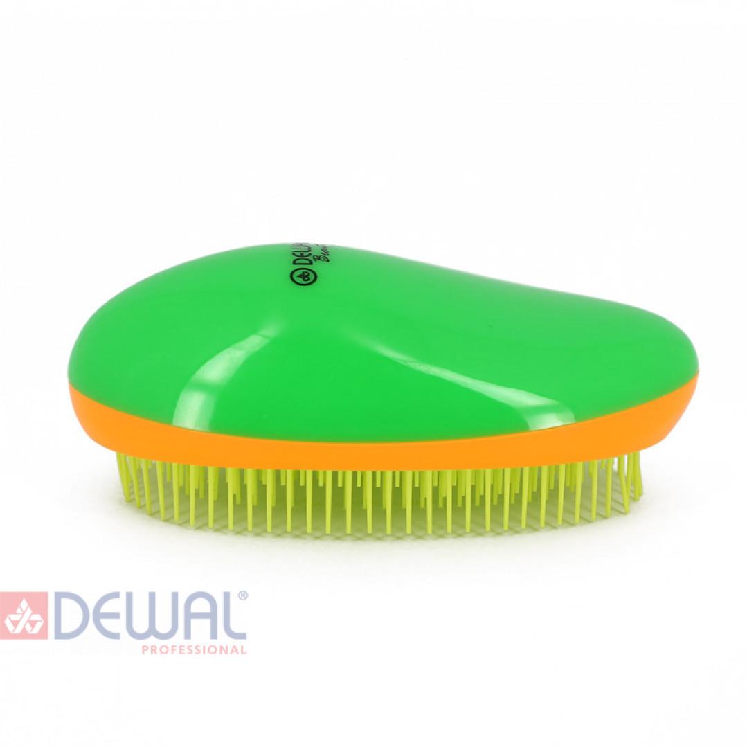 Щетка массажная овальная для легкого расчесывания волос DEWAL BEAUTY DBT-01