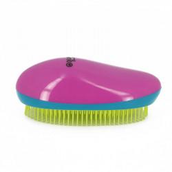 Щетка массажная овальная для легкого расчесывания волос DEWAL BEAUTY DBT-02