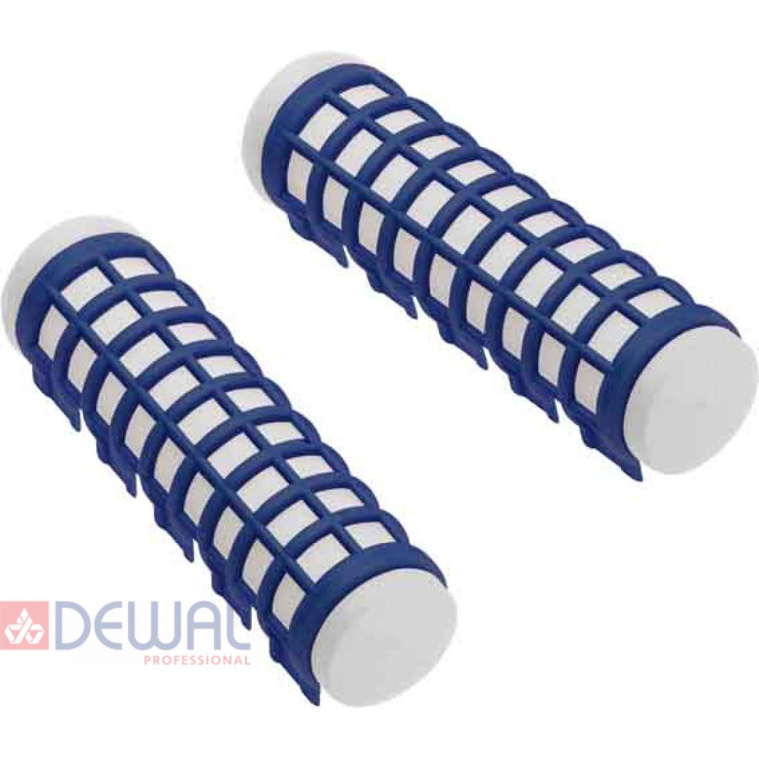 Бигуди термо синие d 17 мм x 68 мм (6шт) DEWAL BEAUTY DBTR17