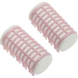 Бигуди термо розовые d 32 мм x 68 мм (6шт) DEWAL BEAUTY DBTR32