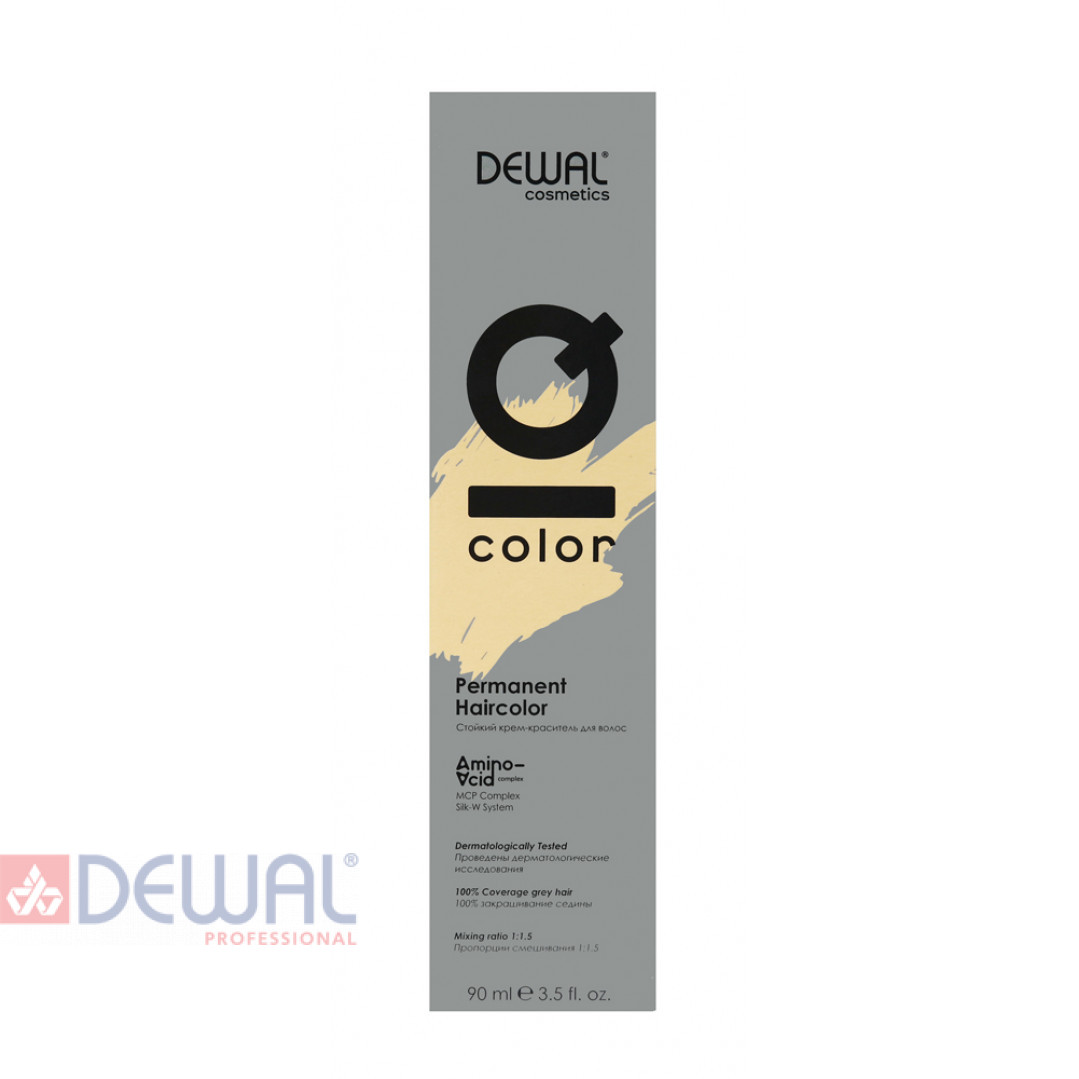 4.0 Краситель перманентный IQ COLOR, 90 мл DEWAL Cosmetics DC4.0