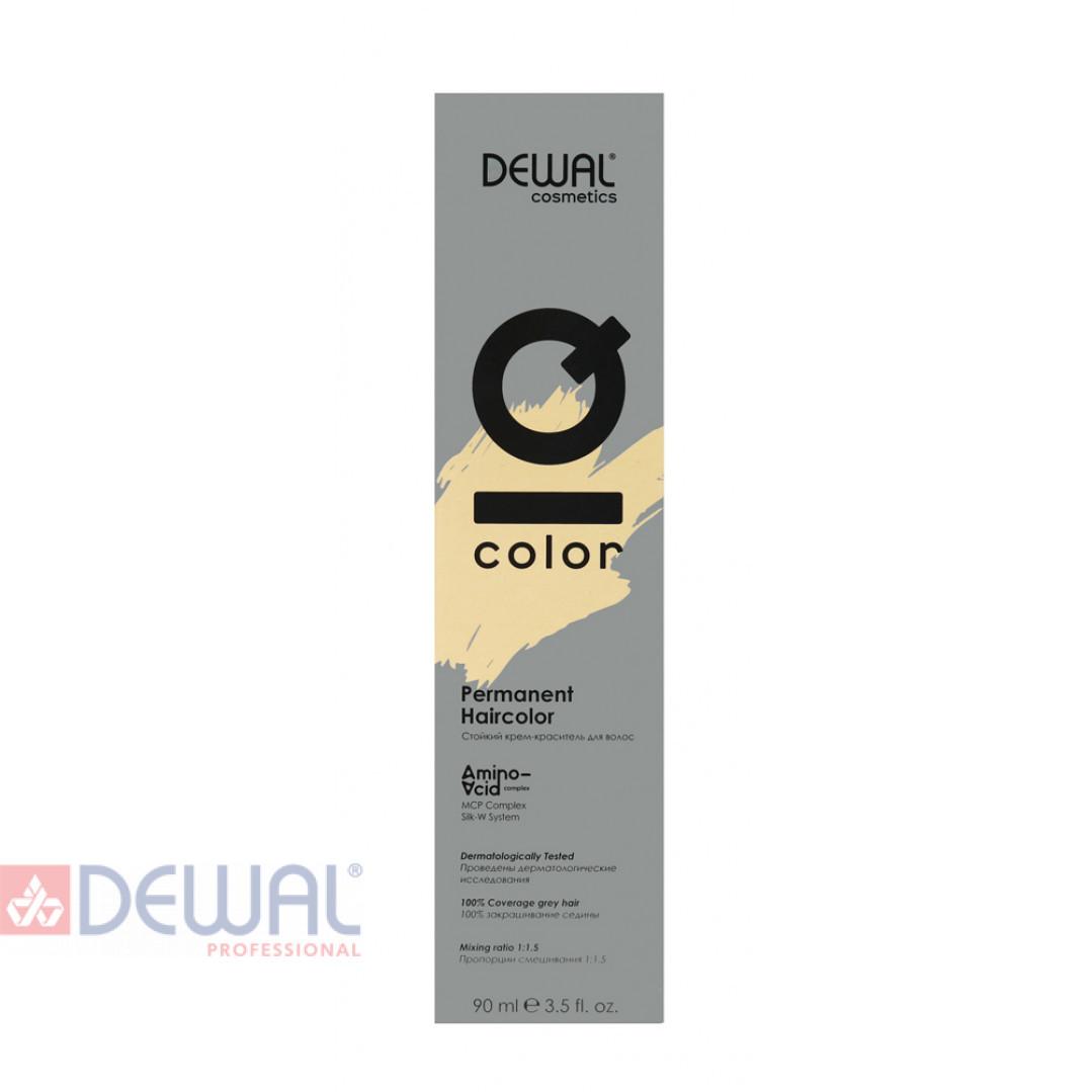 8.38 Краситель перманентный IQ COLOR, 90 мл DEWAL Cosmetics DC8.38