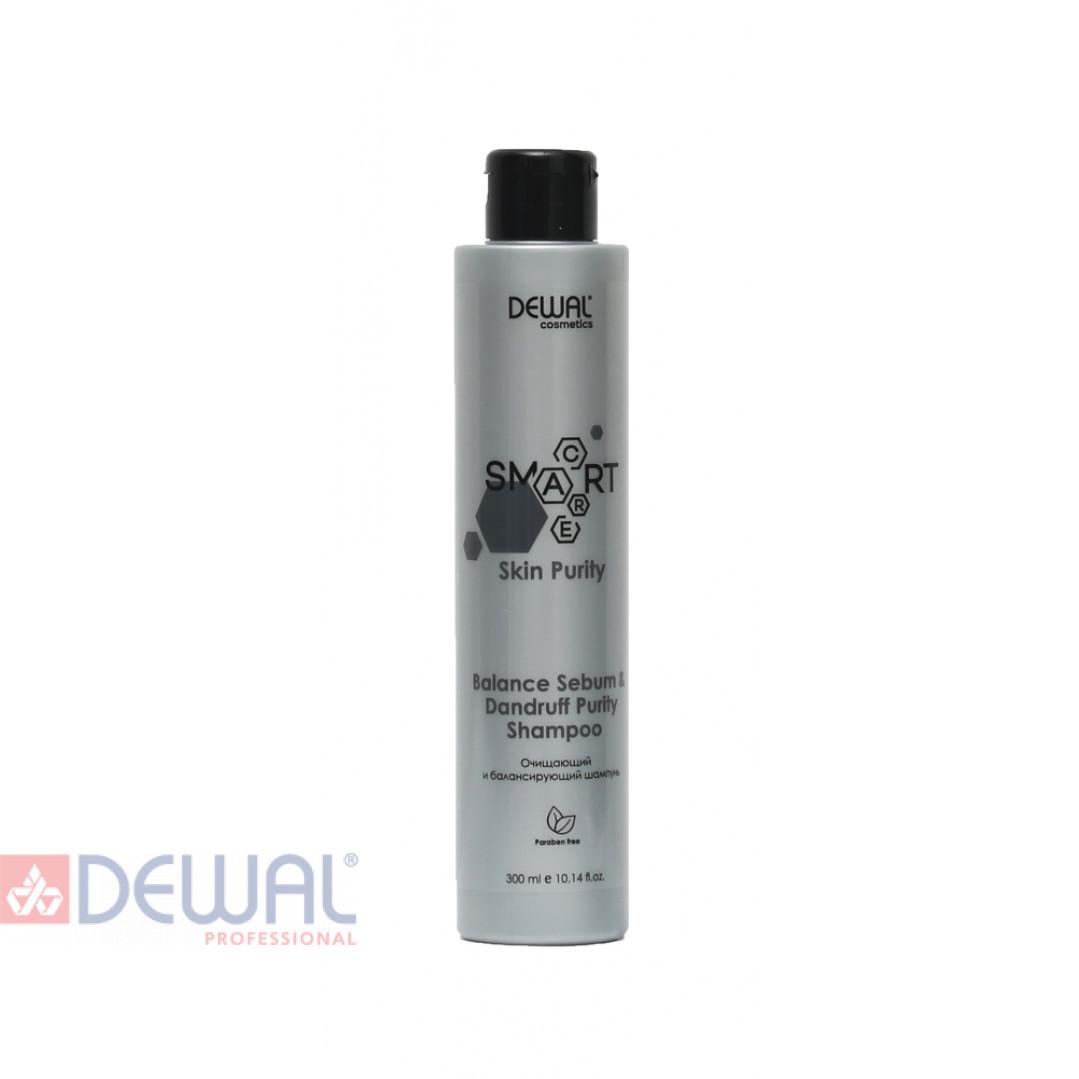 Очищающий шампунь SMART CARE Skin Purity Balance Sebum & Dandruff Purity Shampoo DEWAL Cosmetics DCB20304