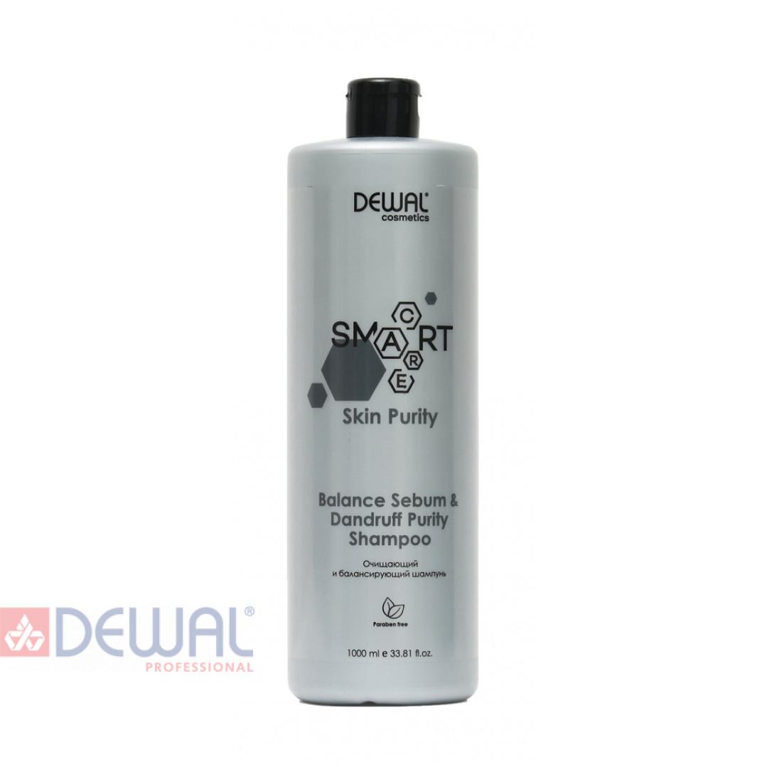 SMART CARE Skin Purity Balance Sebum & Dandruff Purity Shampoo DEWAL Cosmetics DCB20305
