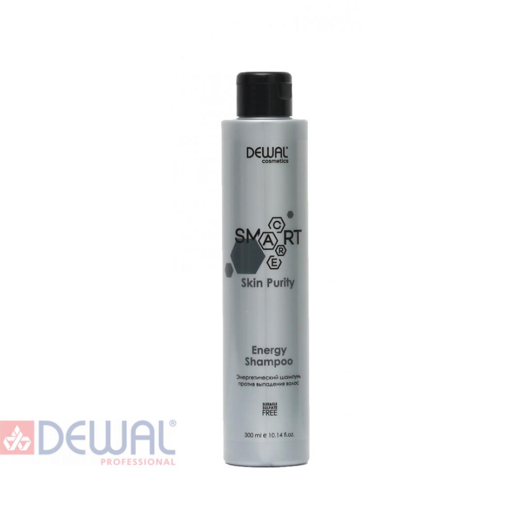 Энергетический шампунь против выпадения волос SMART CARE Skin Purity Energy Shampoo DEWAL Cosmetics DCB20306