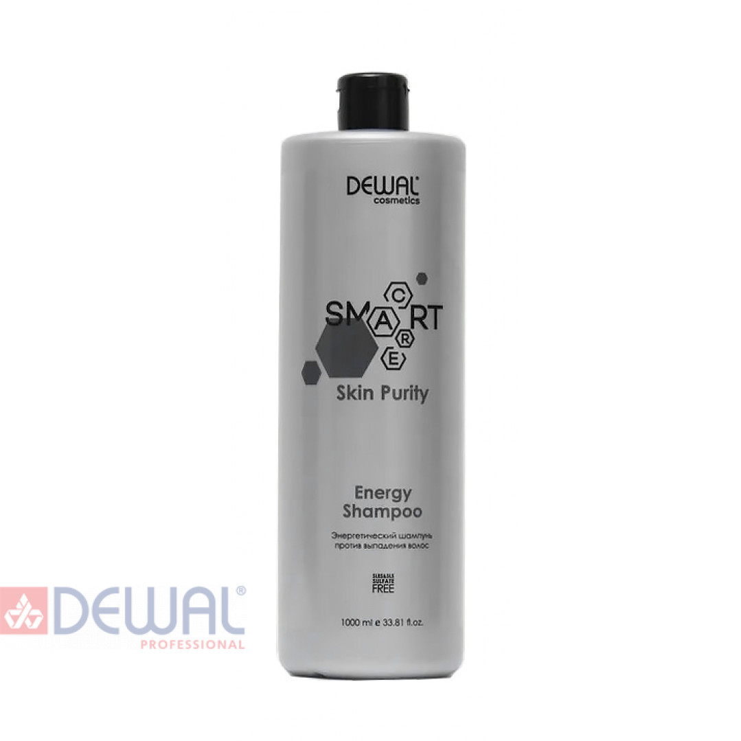 Энергетический шампунь против выпадения волос SMART CARE Skin Purity Energy Shampoo DEWAL Cosmetics DCB20307