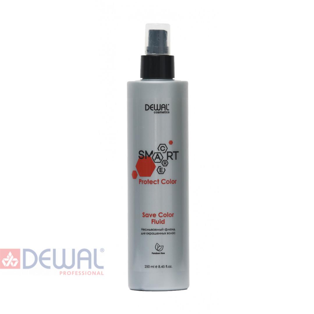 Несмываемый флюид для окрашенных волос SMART CARE Protect Color Save Color Fluid DEWAL Cosmetics DCC20103