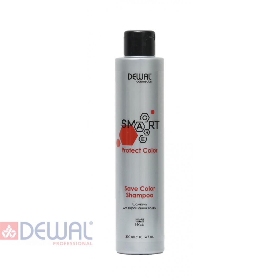 Шампунь для окрашенных волос SMART CARE Protect Color Save Color Shampoo DEWAL Cosmetics DCC20104