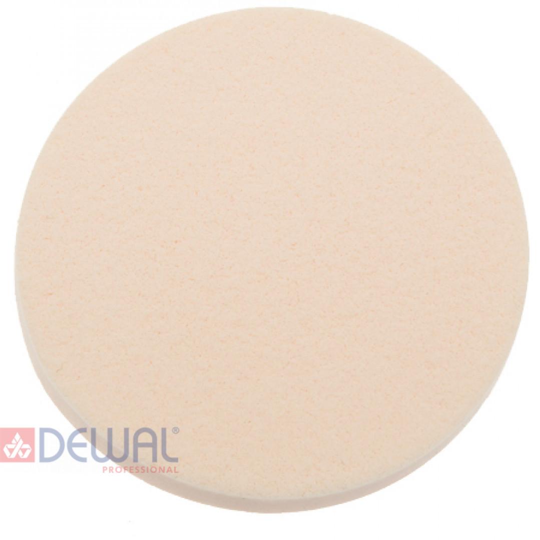 Губка макияжная, круглая (10 шт) DEWAL F008