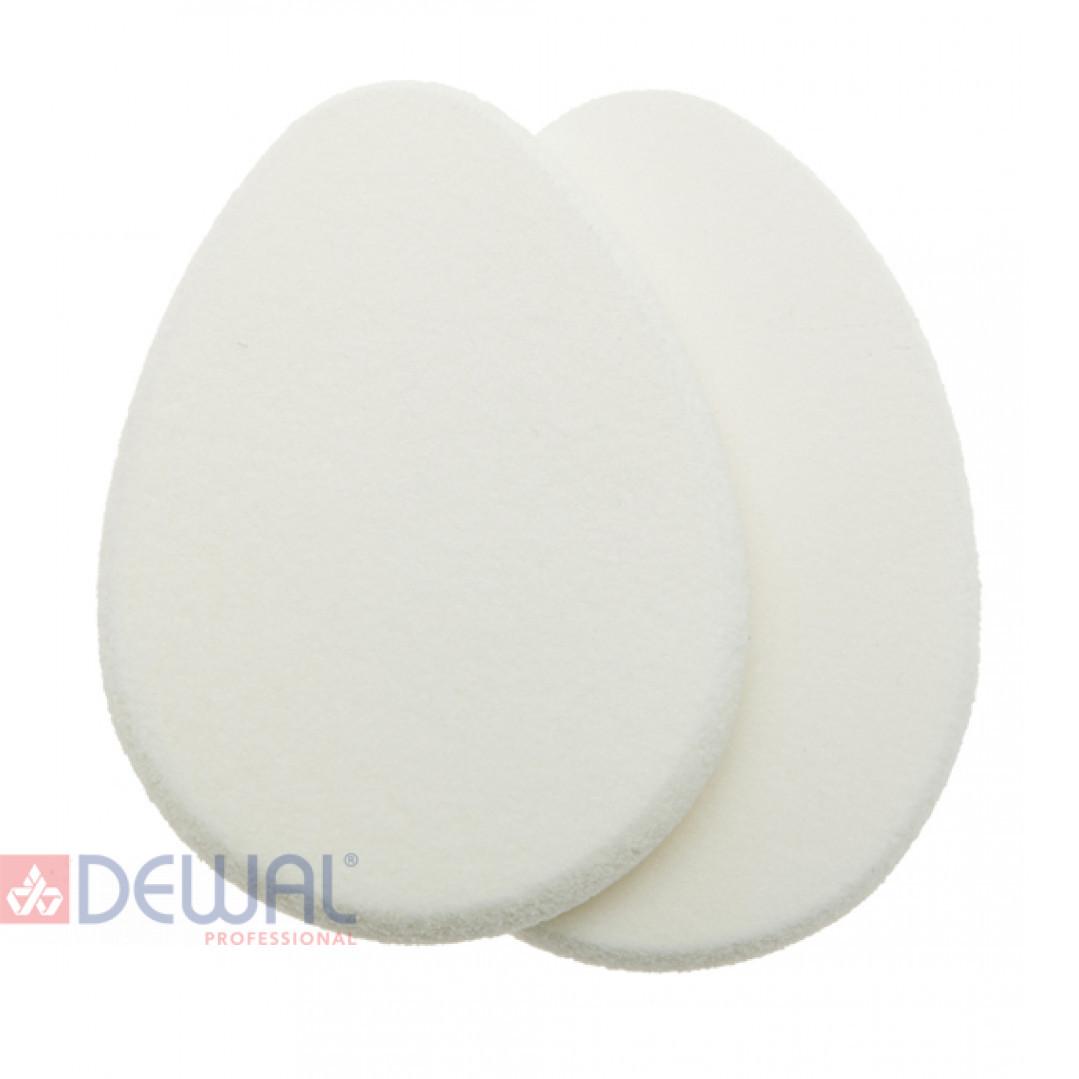 Губка макияжная, овальная (2 шт) DEWAL H08