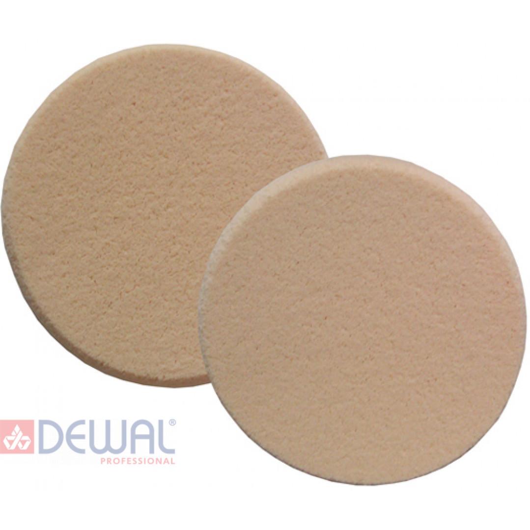Губка макияжная, круглая (5 шт) DEWAL H15