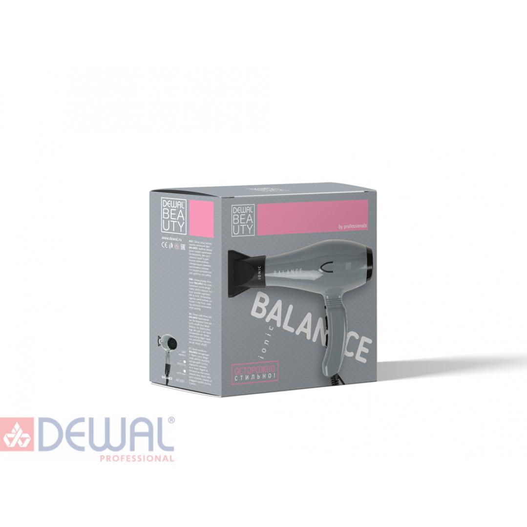 Фен 2200 Вт Balance Grey DEWAL BEAUTY HD1001-Grey