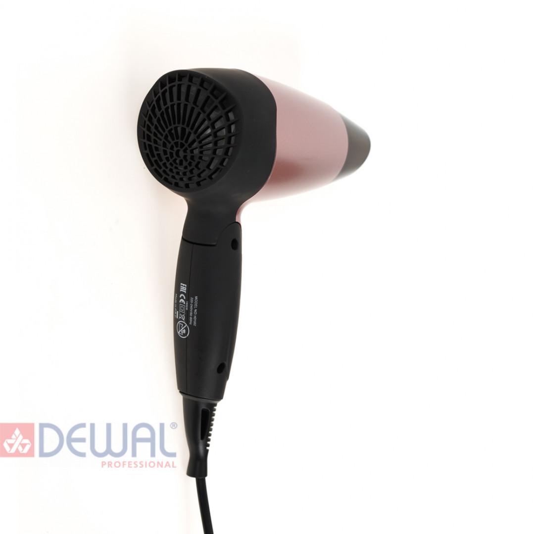 Фен дорожный Aero Rose DEWAL BEAUTY HD1002-Rose