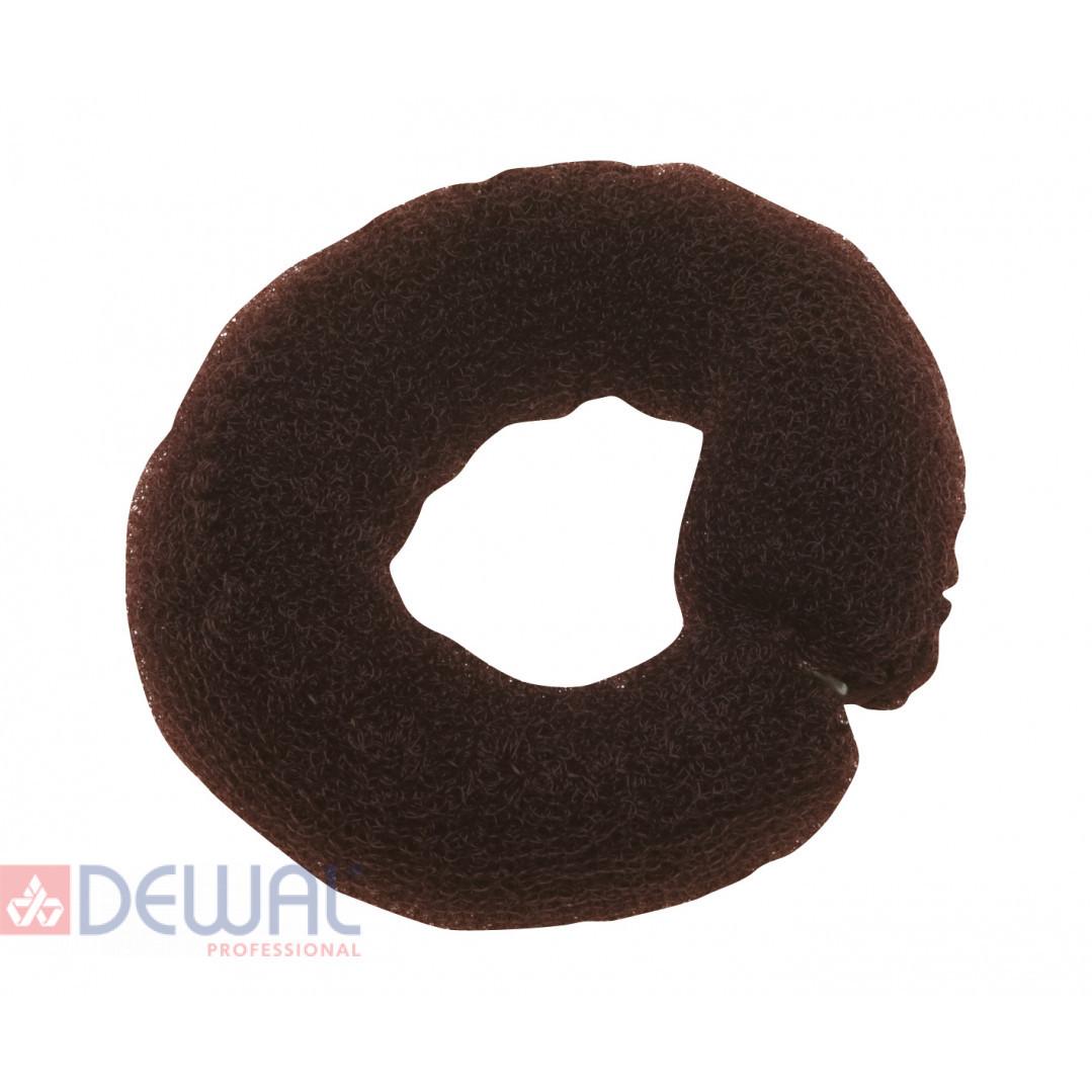 Валик для прически коричневый 25 см DEWAL HO-5102 Brown