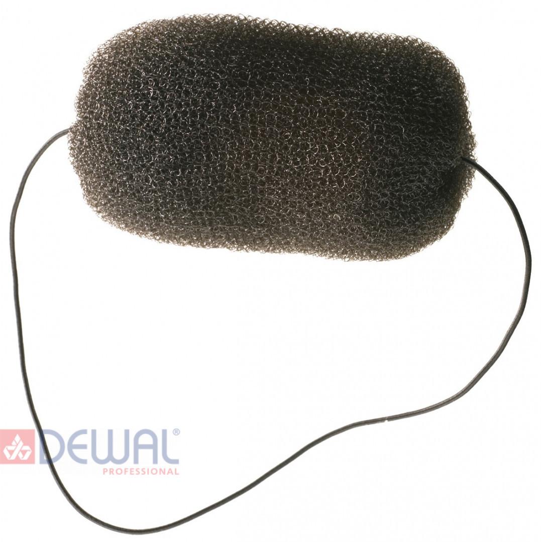 Валик для прически черный 12 см DEWAL HO-5113 Black