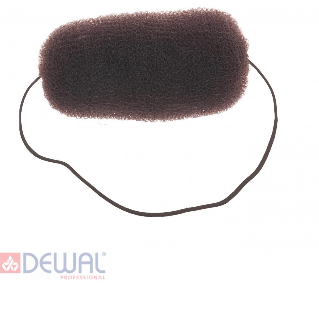 Валик для прически коричневый 12 см DEWAL HO-5113 Brown