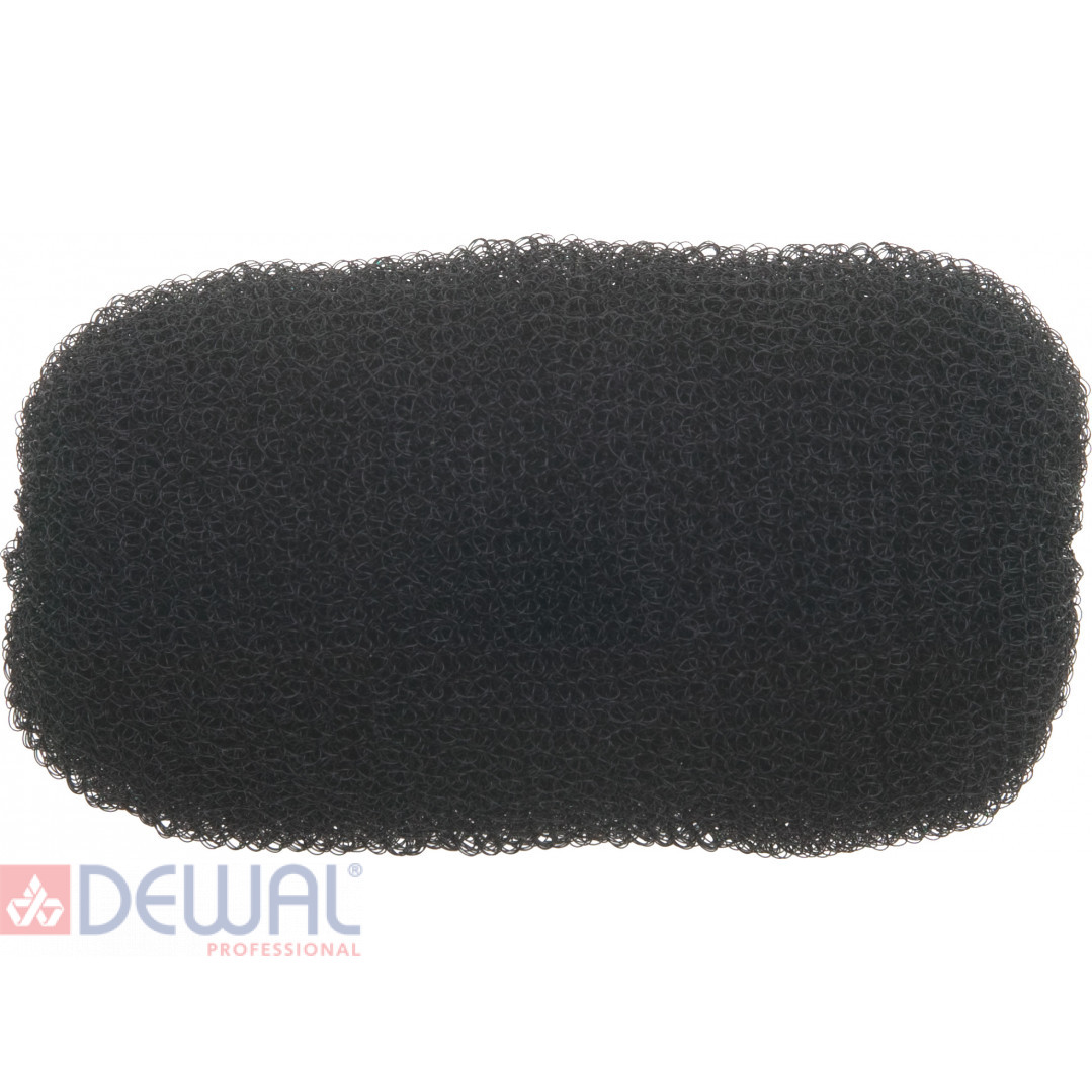 Валик для прически черный 12 см DEWAL HO-5114 Black