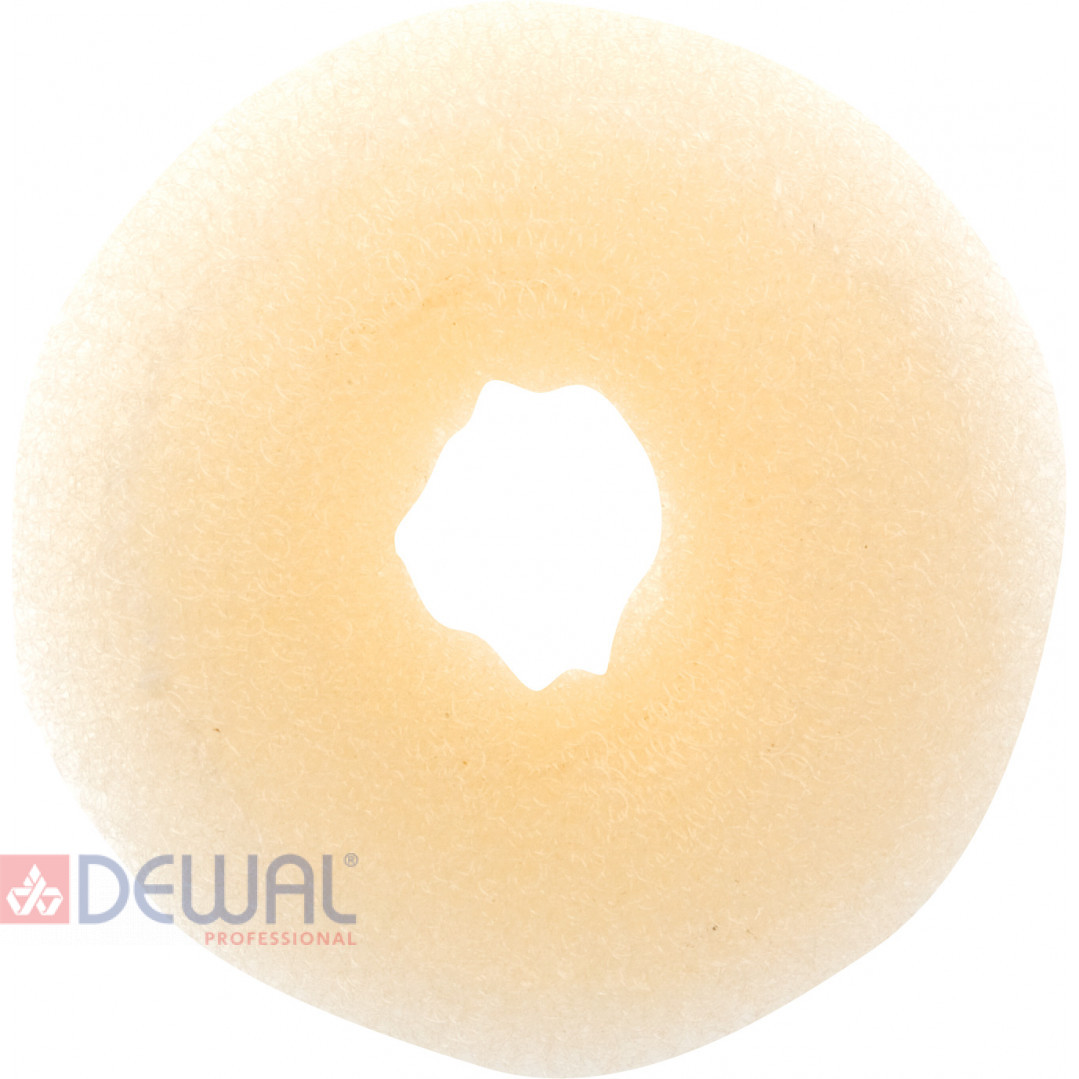 Валик для прически блондин 8 см DEWAL HO-5116 Blond