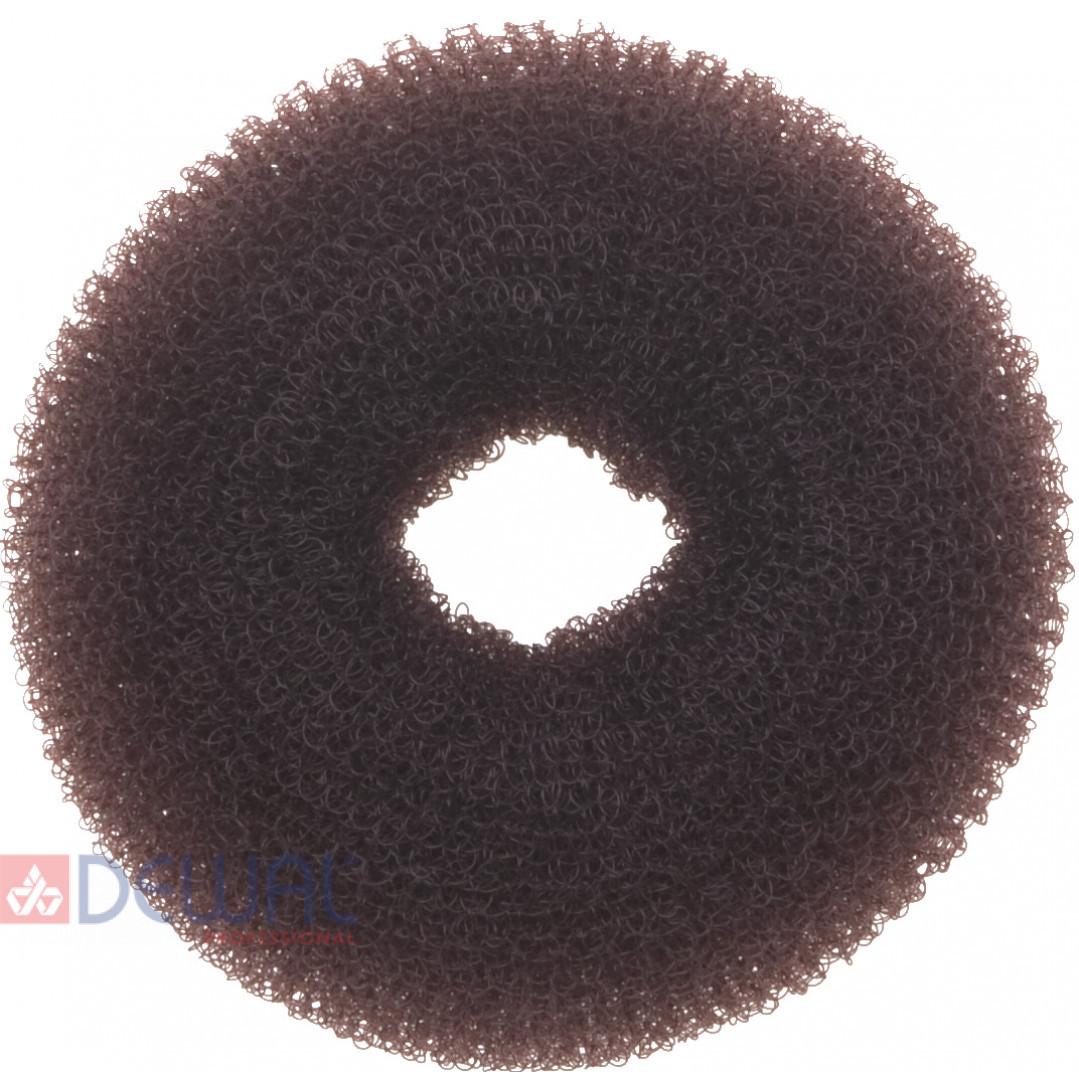 Валик для прически коричневый 8 см DEWAL HO-5116 Brown