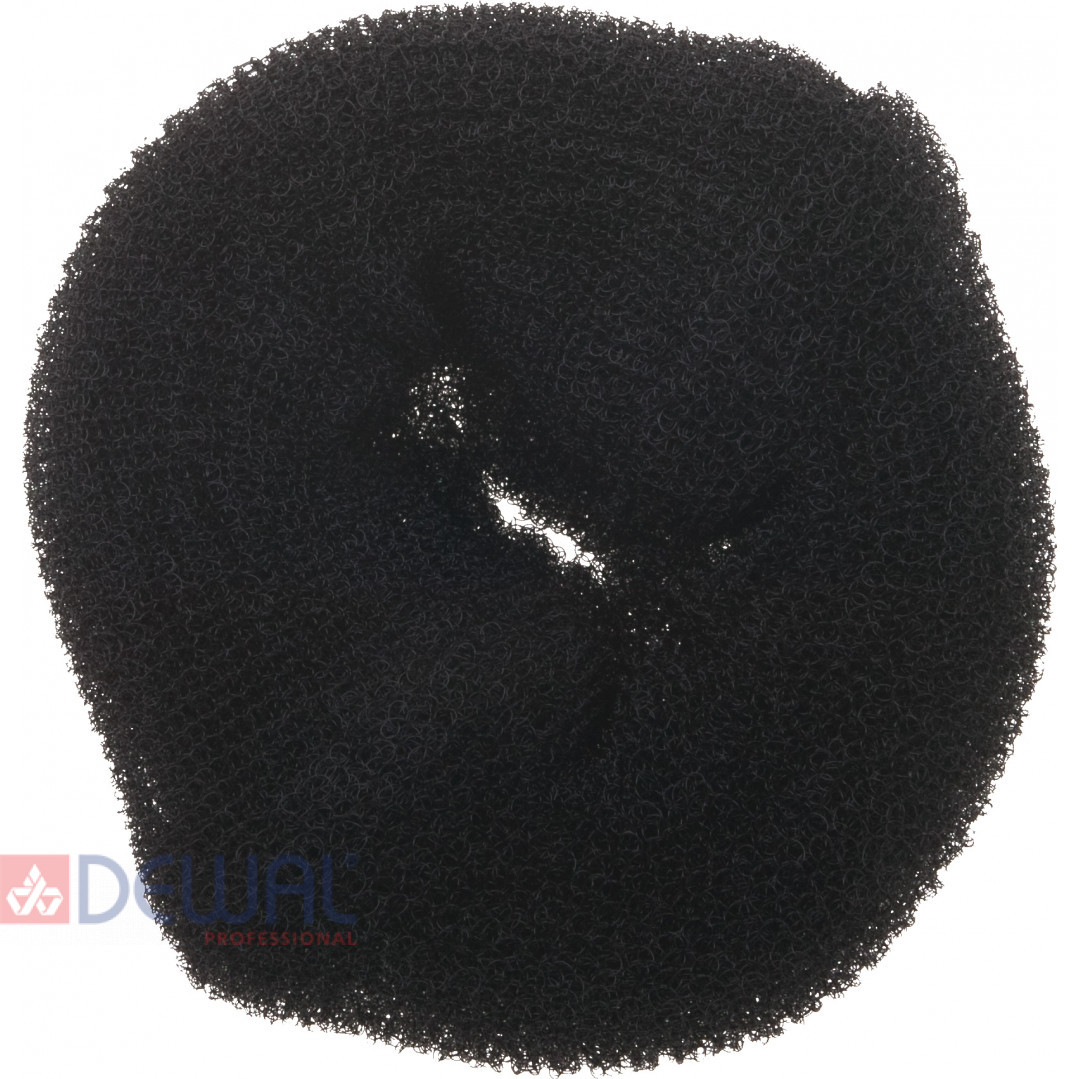 Валик для прически черный 14 см DEWAL HO-5117L Black*