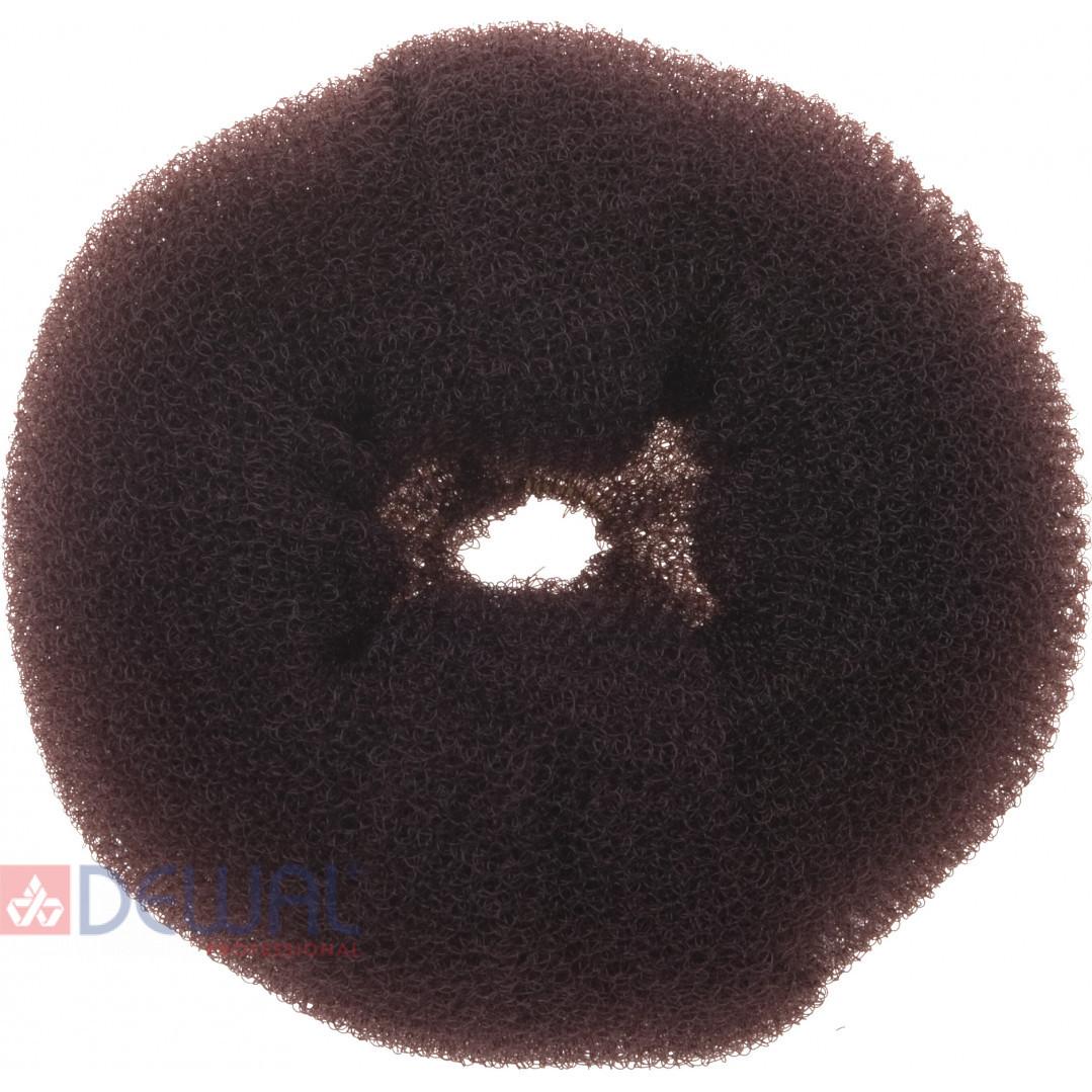 Валик для прически коричневый 14 см DEWAL HO-5117L Brown*