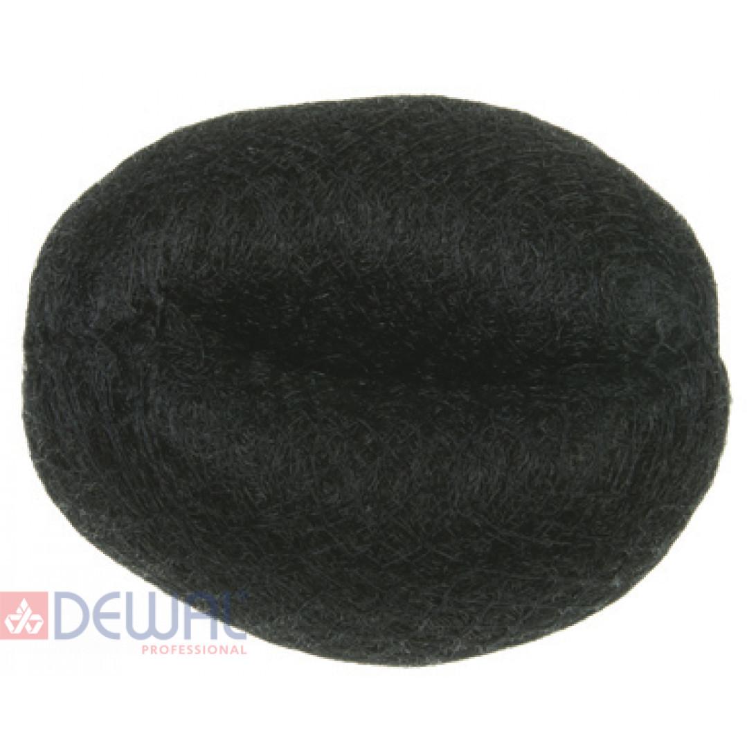 Валик для прически черный 14 см DEWAL HO-5141Black