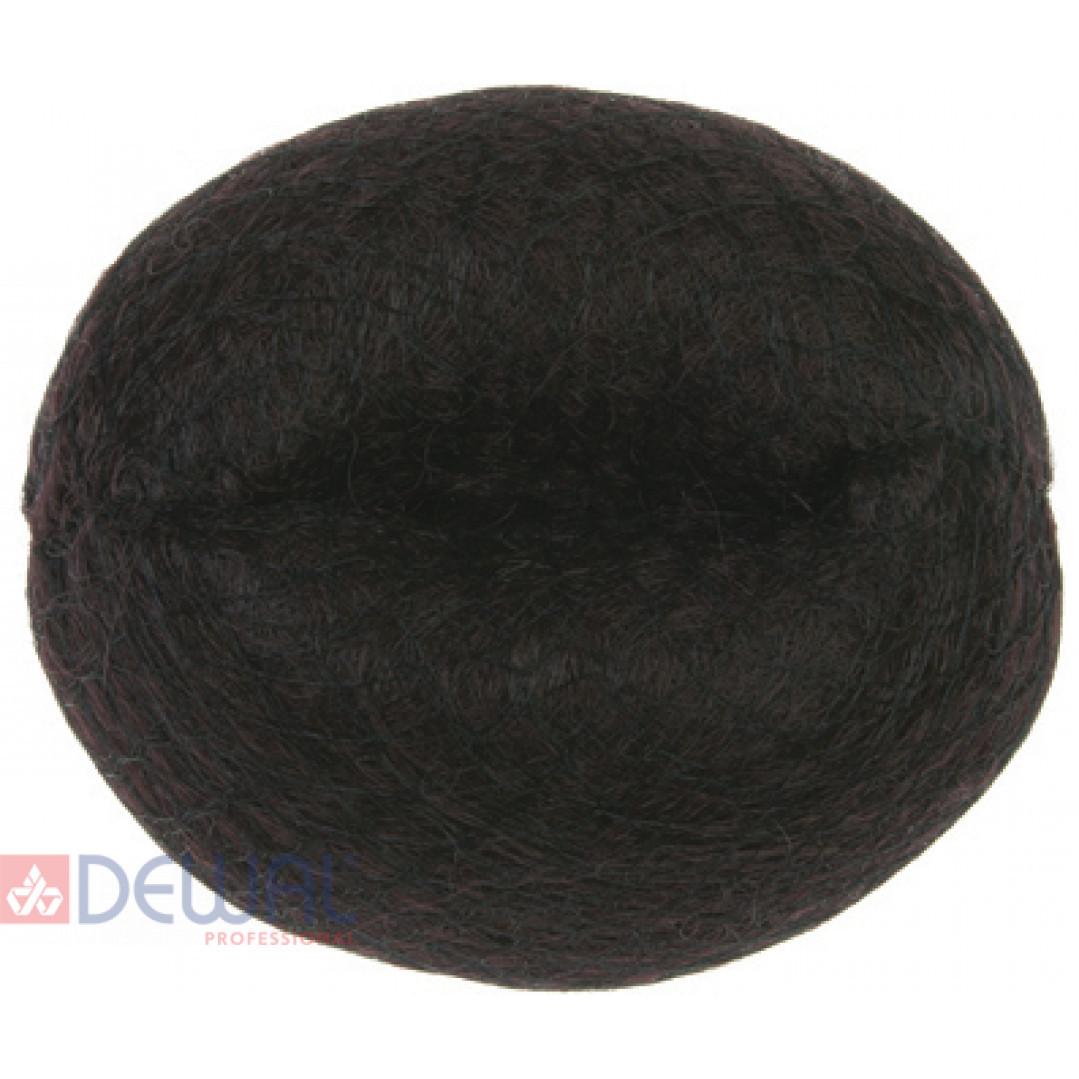 Валик для прически коричневый 14 см DEWAL HO-5141Brown