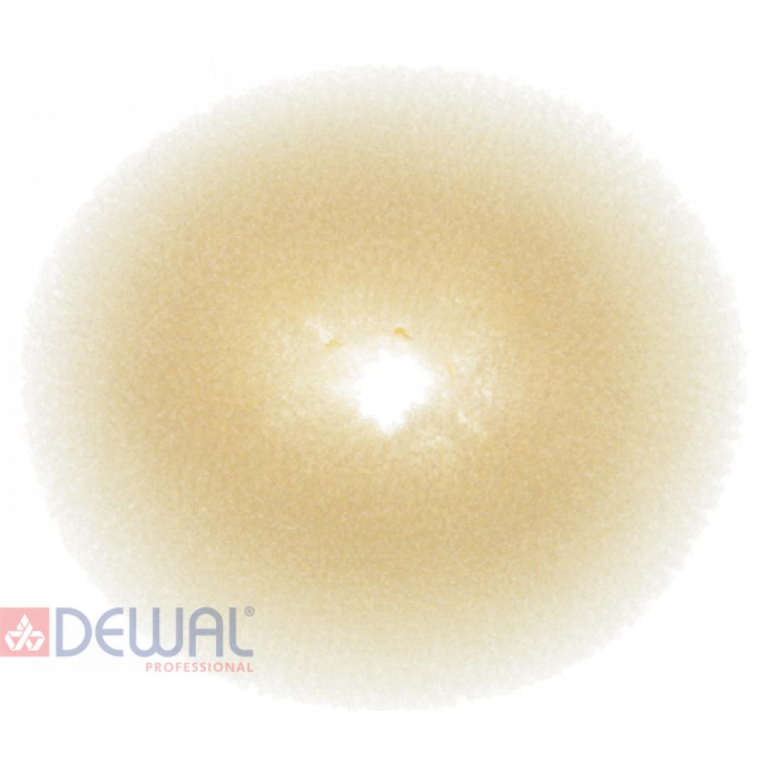 Валик для прически блондин 10 см DEWAL HO-5149Blond