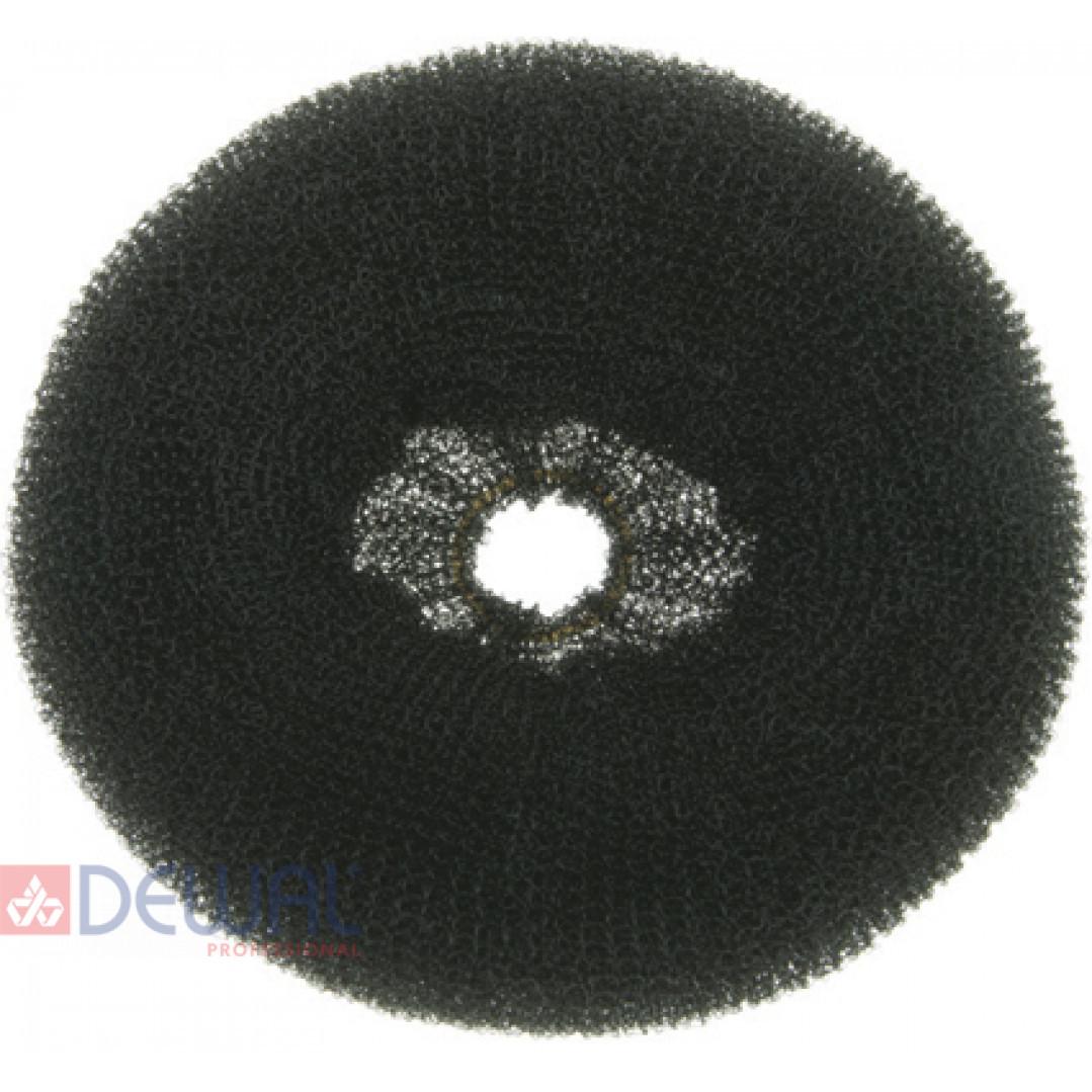 Валик для прически черный 14 см DEWAL HO-5151Black*