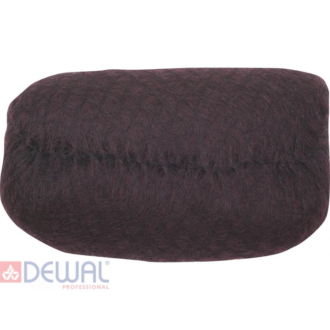 Валик для прически коричневый 18 х 11 см DEWAL HO-PC Dark brown