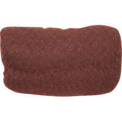 Валик для прически рыжий 18 х 11 см DEWAL HO-PC Red Brown