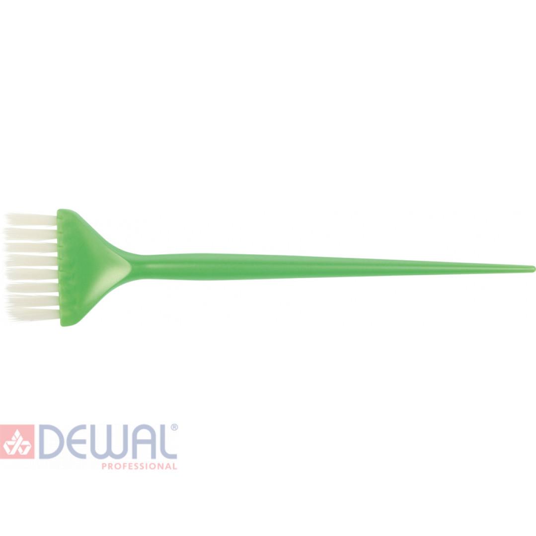 Кисть для окрашивания волос DEWAL JPP048-1 green