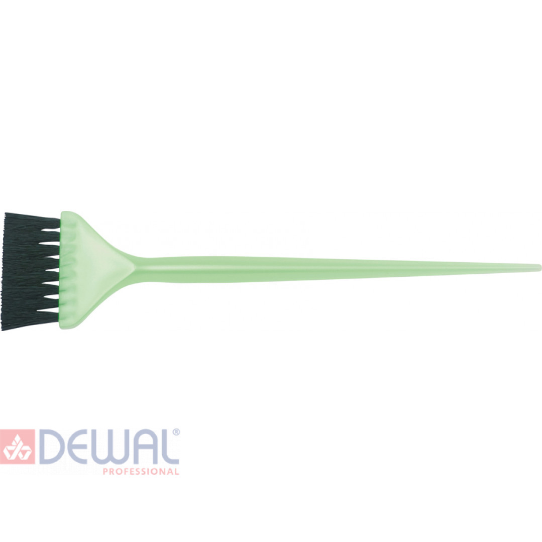 Кисть для окрашивания волос DEWAL JPP048 green