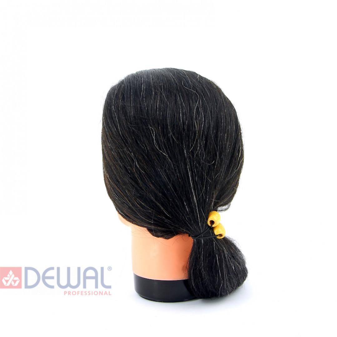 "Голова-манекен учебная ""брюнетка"" для парикмахеров DEWAL M-4151L-401"