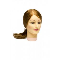 Голова-манекен учебная блондинка для парикмахеров DEWAL M-4151XL-407