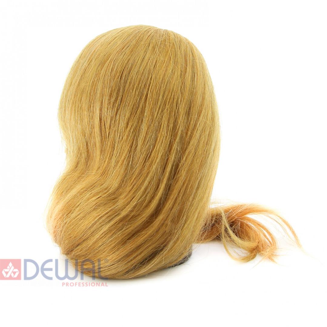 """Голова-манекен учебная """"блондинка"""" для парикмахеров DEWAL M-4151XL-408"""