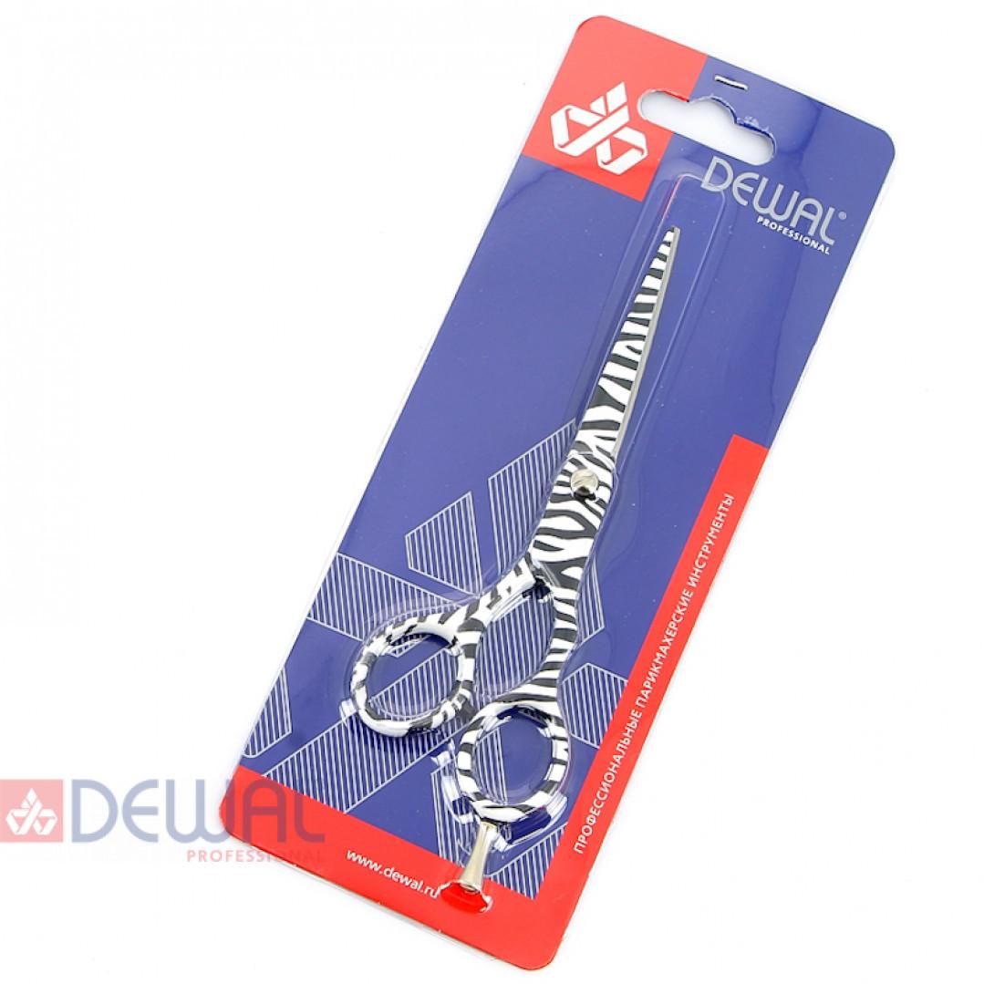 """Парикмахерские ножницы COLOUR STEP прямые 5,5"""" DEWAL M30655-ZB"""