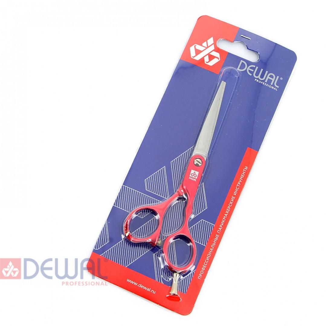 "Парикмахерские ножницы COLOUR STEP прямые 5,5"" DEWAL M31955-RD"