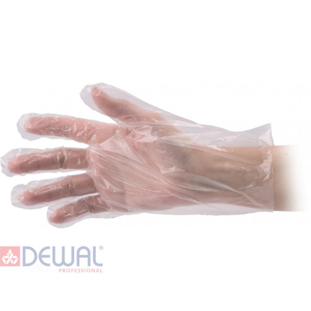 Перчатки одноразовые п/э (100 шт) DEWAL ME0001