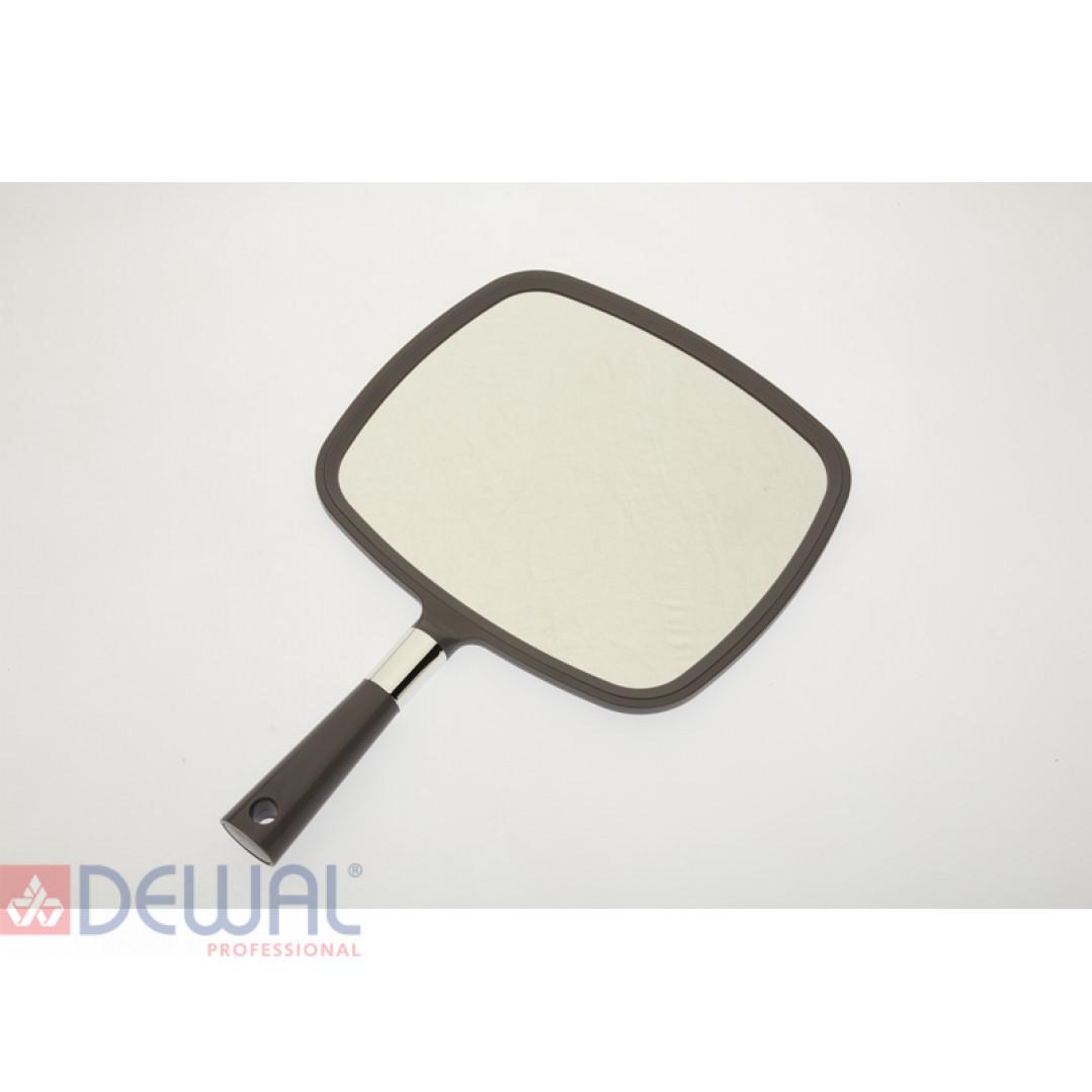 Зеркало заднего вида серое с ручкой (33,5 х 23 см) DEWAL MR-014