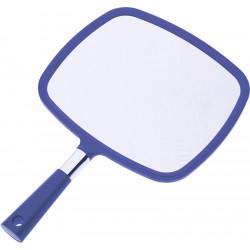 Зеркало заднего вида синее с ручкой (33,5 х 23 см) DEWAL MR-015