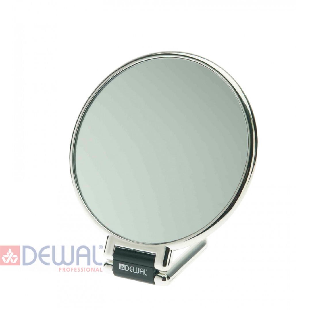 Зеркало настольное серебристое (14 х 23 см) DEWAL MR-330