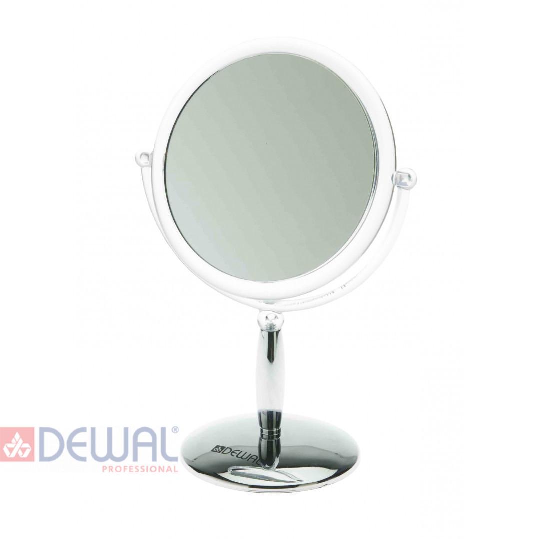 Зеркало настольное серебристое (15 x 21,5 см) DEWAL MR-417
