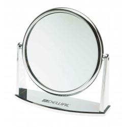 Зеркало настольное серебристое (18 х 18,5 см) DEWAL MR-425