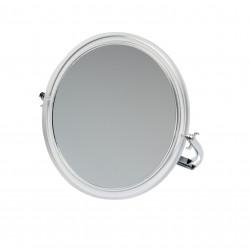 Зеркало настольное в прозрачной оправе DEWAL BEAUTY MR109