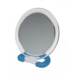 Зеркало настольное в прозрачной оправе DEWAL BEAUTY MR110