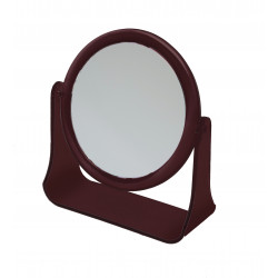 Зеркало настольное в оправе янтарного цвета DEWAL BEAUTY MR111