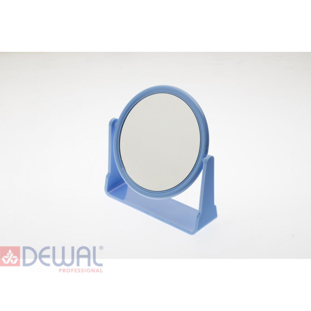 Зеркало настольное на подставке синего цвета DEWAL BEAUTY MR115
