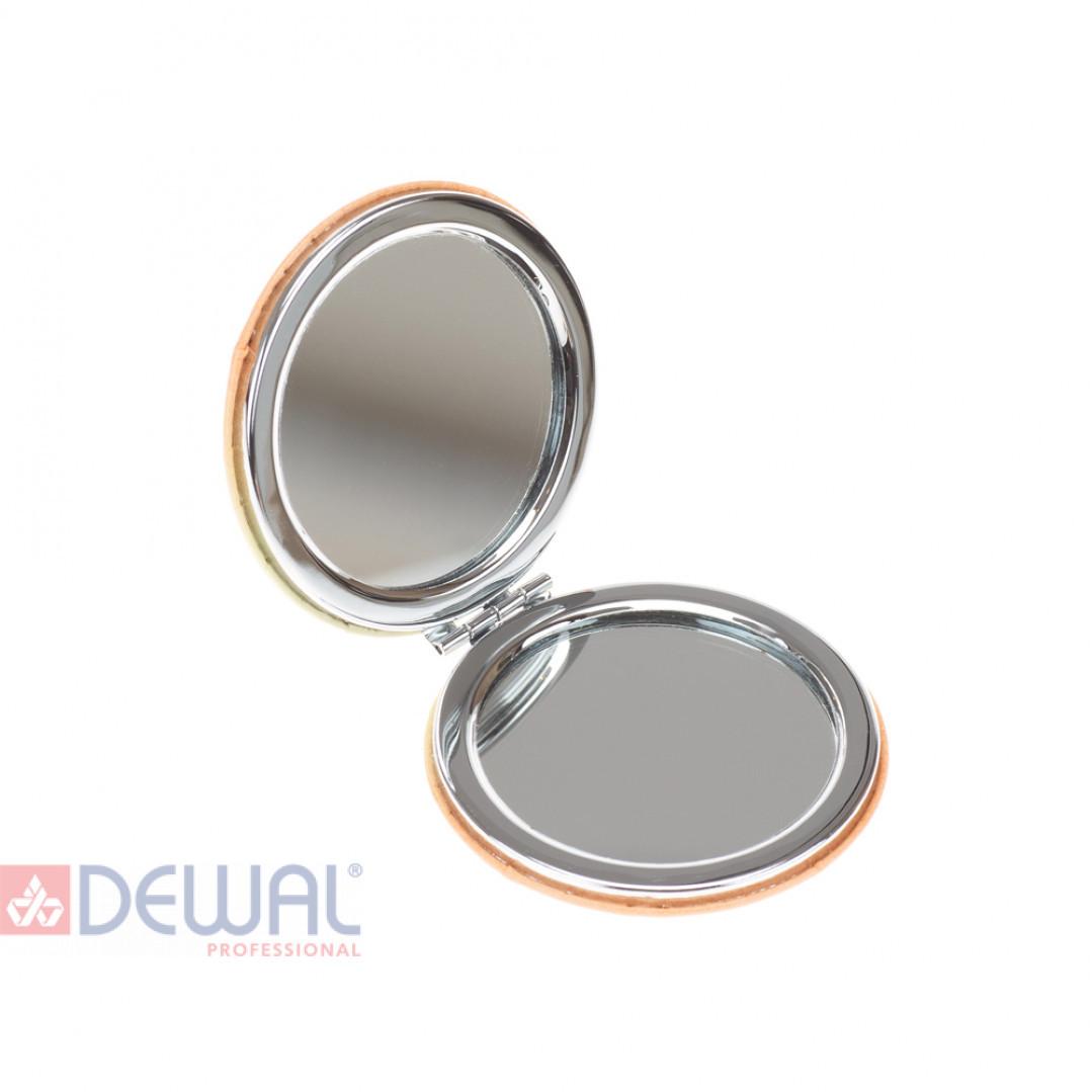 """Зеркало карманное круглое """"Смайлики"""" DEWAL BEAUTY MR21"""
