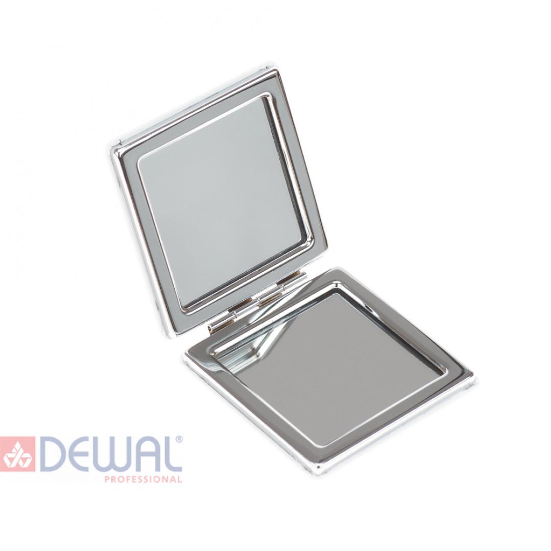 """Зеркало карманное квадратное """"Смайлики"""" DEWAL BEAUTY MR22"""